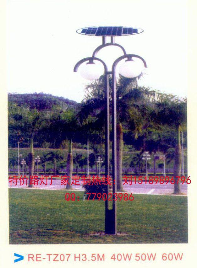 郴州5米太陽能庭院燈-- 太陽能路燈