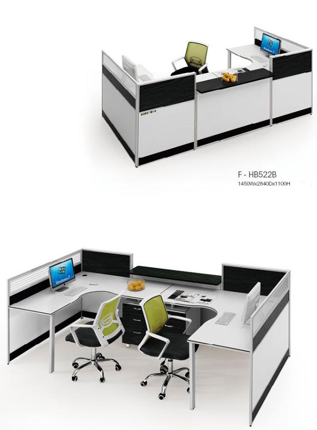 办公家具,简约办公桌,员工桌