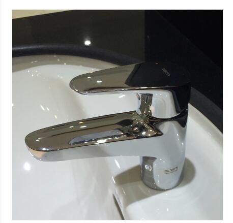 TOTO卫浴单孔洗脸盆用水龙头DL347S 全铜镀铬
