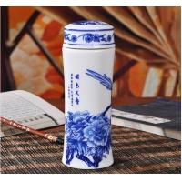 保温瓷器杯子  景德镇陶瓷保温杯子生产厂家