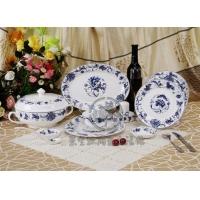 56头骨瓷餐具 高档礼品陶瓷餐具 景德镇陶瓷餐具礼品