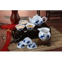 手绘青花瓷茶具 粉彩功夫茶具    家居日用陶瓷茶具