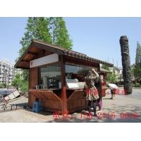 木质结构岗亭,公园木质结构岗亭