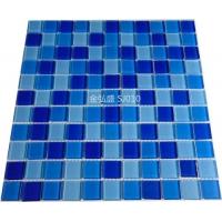 水晶马赛克游泳池工程专业陶瓷混合色