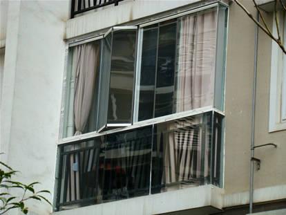 富丽玻璃-无框阳台
