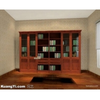 红木书柜 办公家具 书房家具 书架