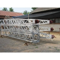 铝合金框架式冲天抱杆, 铝合金框架扒杆