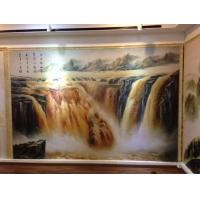 佛山彩雕背景墙