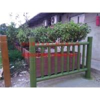 风貌改造水泥仿竹护栏 道路仿竹栏杆 水泥围栏