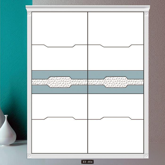 雅鑫玻璃移门——6D异形浮雕艺术移门