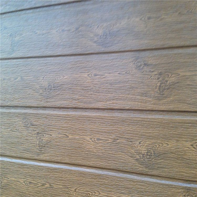 树皮纹金属雕花板 外墙保温装饰一体 仿碳化木效果