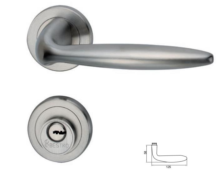 供应高端304不锈钢内房门锁