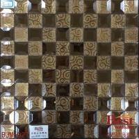 百思达厂家出售 质量优质 镜面马赛克 客厅 浴室装饰背景墙