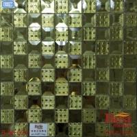 厂家直销-磨边玻璃5面钻 优质镜面马赛克背景墙价格