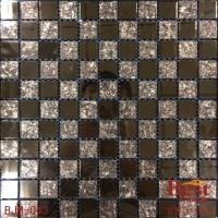 厂家直销-质量优质 玻璃马赛克 店面工程背景墙