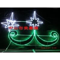 LED双孔雀造型灯,LED路灯杆装饰灯,街道亮化灯