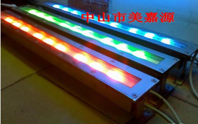 LED地埋灯,LED条型地埋灯,18W地埋灯