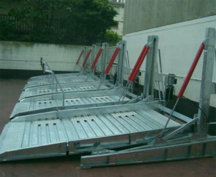 EI莱贝俯仰式立体车库家用立体停车设备停车场汽车举升