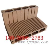 木塑廊架 塑木地板 园林立柱 公园平台