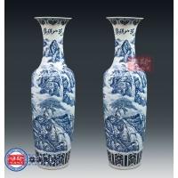 景德镇加字大花瓶 陶瓷花瓶