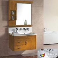 成都优品居卫浴--优品居简欧挂墙式浴室柜--A-043