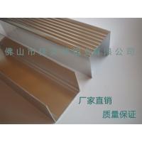 锦辉铝业 双门展示柜、玻璃门陈列柜冰箱边框铝型材