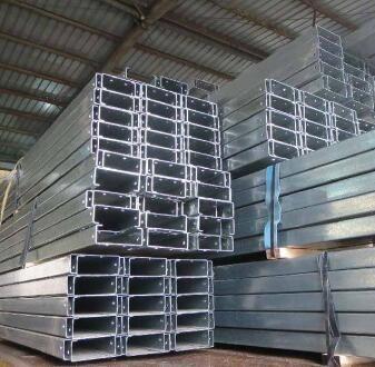 供青海玉树c型钢和格尔木镀锌c型钢供应商