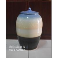50斤大口坛子,陶瓷泡酒罐,葡萄酒坛