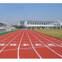 pu塑胶球场 硅pu原料 耐磨耗性耐水性多种色彩运动地板
