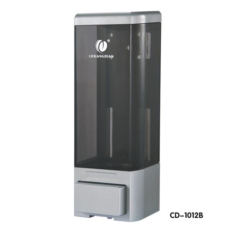 公共场所皂液器 商场厕所洗手液器 1012B(银色)皂液盒