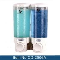2006A 酒店卫生间300ml*2 双头皂液器