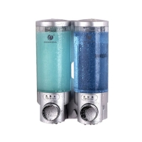 手动皂液器系列 2006B 壁挂式手动皂液器300ml*2