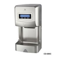 LCD液晶显示干手机 酒店 卫生间干手器 680C(电镀)