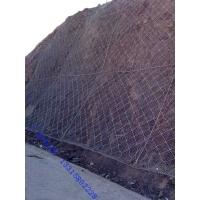 边坡上菱形防护网