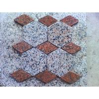 纯天然花岗岩六角形 菱形铺地石 石材马赛克