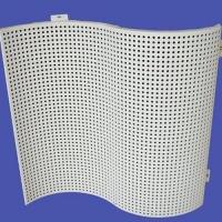 弧形冲孔铝单板价格