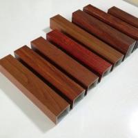 木纹四方铝管厂家