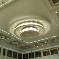 600铝扣板组合吊顶