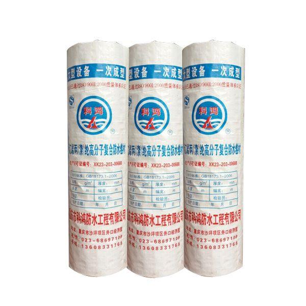 聚乙烯(涤)纶高分子复合防水卷材