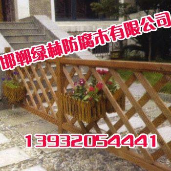 防腐木围栏 优质防腐木花箱