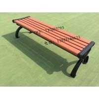 广州户外家具厂|订制塑木公园椅|室外防腐休闲椅