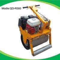 600型加厚钢轮手扶式单轮GX160汽油压路机