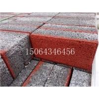 山东淄博烧结砖厂现货混凝土透水砖