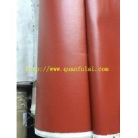 管道硅胶布  玻璃纤维硅胶布0.45mm,0.6mm