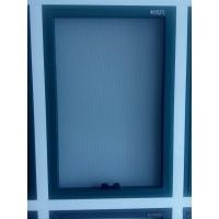 防护儿童的石家庄金钢网防护窗 高质量的不锈钢金钢纱防护窗