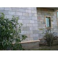 特色天然形成绿色蘑菇石系列 专业供应各种墙面装饰砖 尺寸多样