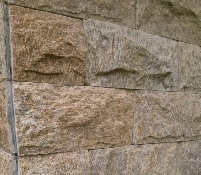 厂家大量生产 墨绿色流水石 室内内 建筑外墙环保装饰 出口贸