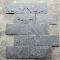 蘑菇石厂家直销天然文化石 花岗岩蘑菇石 灰色蘑菇石