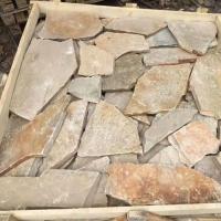 大连蘑菇石厂家碎拼板岩文化石