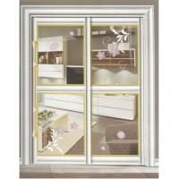 川居门窗-艺术玻璃/隔断系列 L-203